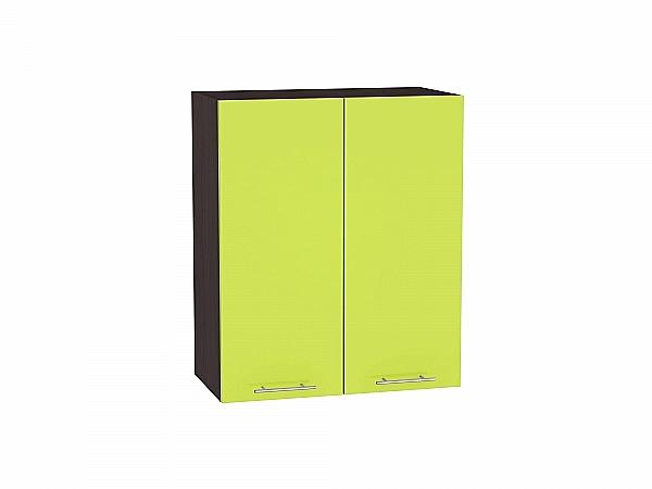 Шкаф верхний Валерия В600 (лайм глянец)
