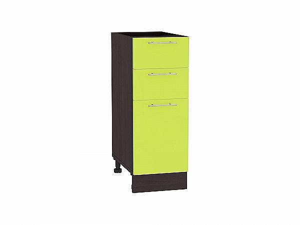 Шкаф нижний Валерия Н303 (лайм глянец)