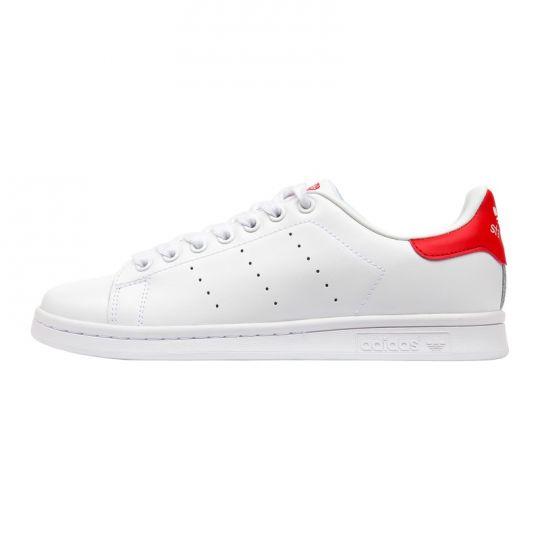 Adidas Кеды Stan Smith White Red