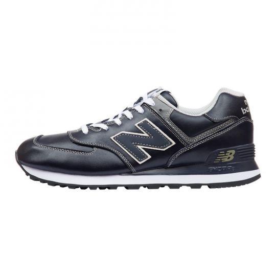 Кроссовки New Balance 574 Leather серые