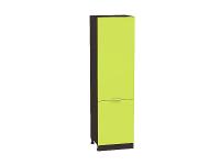 Шкаф пенал с 2-мя дверцами Валерия ШП600 в цвете лайм глянец