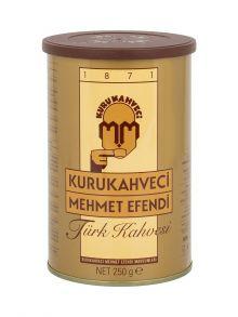 Турецкий кофе KURUKAHVECI MEHMET EFENDI, 250 грамм, молотый
