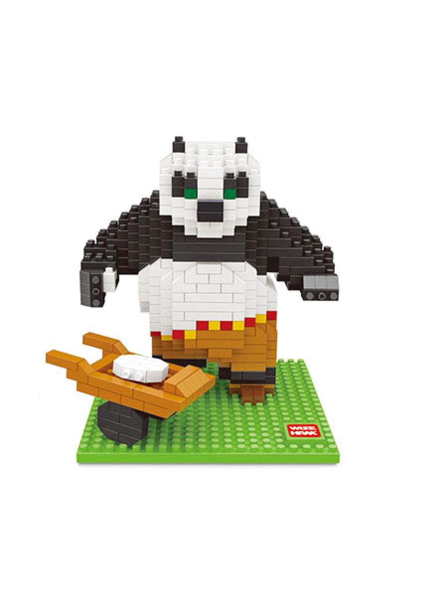 Конструктор Wisehawk & LNO Панда По 422 детали NO.2387 Panda Po