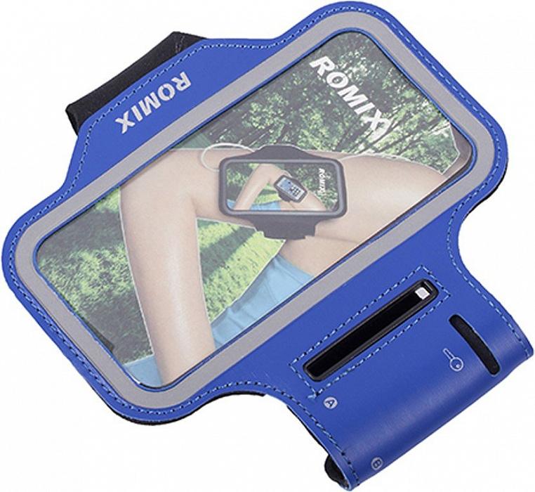 "Чехол спортивный на руку Romix Arm Belt (RH07-4.7) для смартфона 4.7"" (Blue)"
