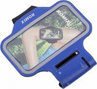 "Чехол спортивный на руку Romix Arm Belt (RH07-4.7) для смартфона 4.7"" (Blue) фото1"