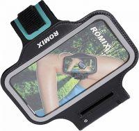 "Спортивный чехол для смартфона Romix Arm Belt (RH07-5.5) для смартфона 5.5"" (Black)"