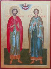 Икона Аникита  Дионисийи Фотий мученики