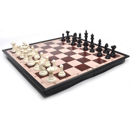 Набор 2 в 1 магнитный 3133 (шахматы, шашки) 33x33см