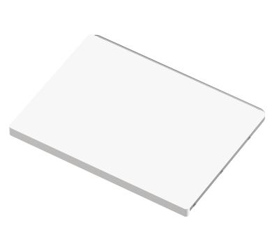 Полка стационарная, белое дерево, серия 460, L=607, белый