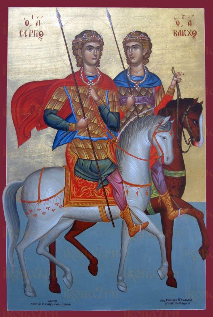 Икона Вакх Римлянин мученик
