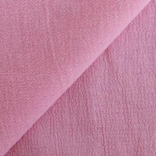 Ткань Марлевка розовая