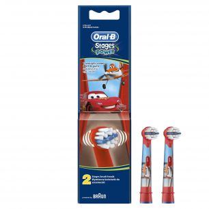 Насадка Oral-B Stages Kids Cars (Тачки-2 шт.)