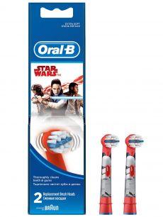 Насадка Oral-B Stages Kids Starwars (Звездые войны-2 шт.)