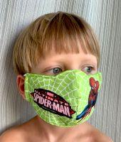 Трёхслойная детская маска с рисунками из мультфильмов. Интернет-магазин, Москва
