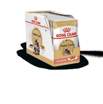 Роял канин Мэйн Кун в соусе пауч (Maine Coon Adult Gravy) 85г.