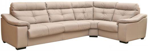 Угловой диван Барселона (кожа)