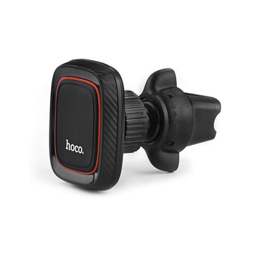 Держатель автомобильный Hoco CA23 магнитный в воздуховод (black)