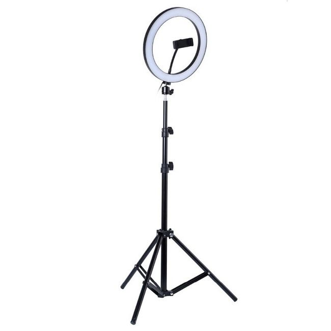 Кольцевая лампа Dimming 36 см с напольным штативом