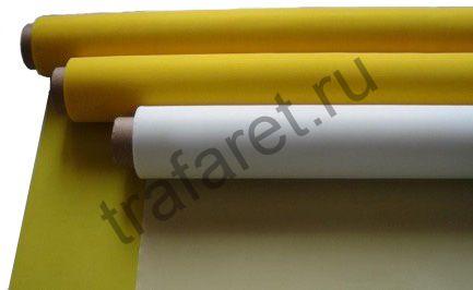 Сетка трафаретная LM-PRINT PES 32/100 белая, ширина 1500 мм, за 1 пог/метр