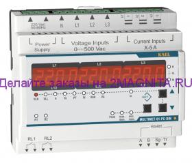 Устройство контроля и защиты трехфазного напряжения 01-PC-DIN