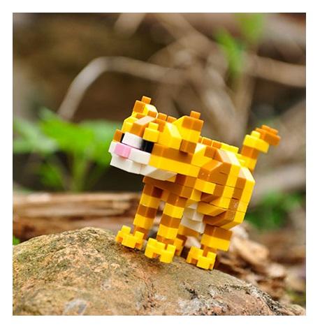 Конструктор Wisehawk & LNO Табби Кот 134 детали NO. C2 Tabby Cat Gift Series