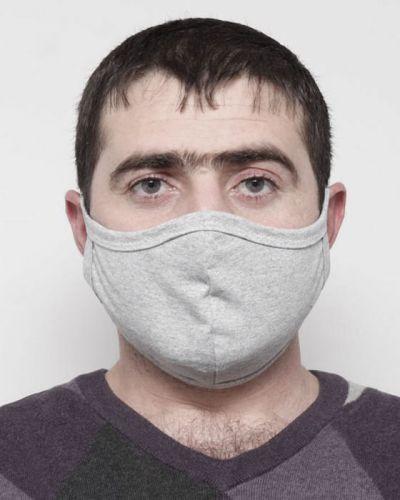 Мужская маска защитная для лица (двойная) №009