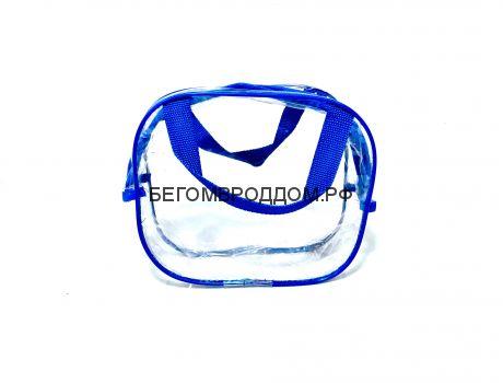 Косметичка 20х17х10, синяя