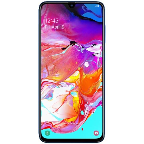 """Samsung Galaxy A70, 6,7"""", 6/128 Гб, FHD+, 4500 мА/ч, (Синий)"""