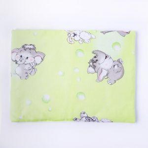 Подушка, размер 30*40 см, цвет зелёный, набивка МИКС 214 1424002