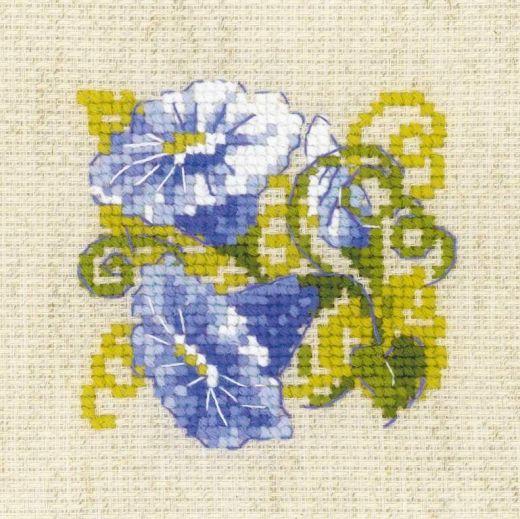 Набор для вышивания крестом Вьюнок №1842 фирма Риолис