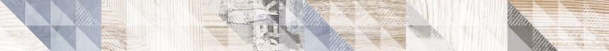 1506-0024 Бордюр настенный Вестанвинд 5x60 серый