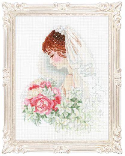Набор для вышивания Riolis Premium Невеста 100/050 фирма Риолис