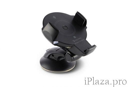 Держатель+Беспроводная зарядка Onetto Easy Flex Wireless Charging Mount
