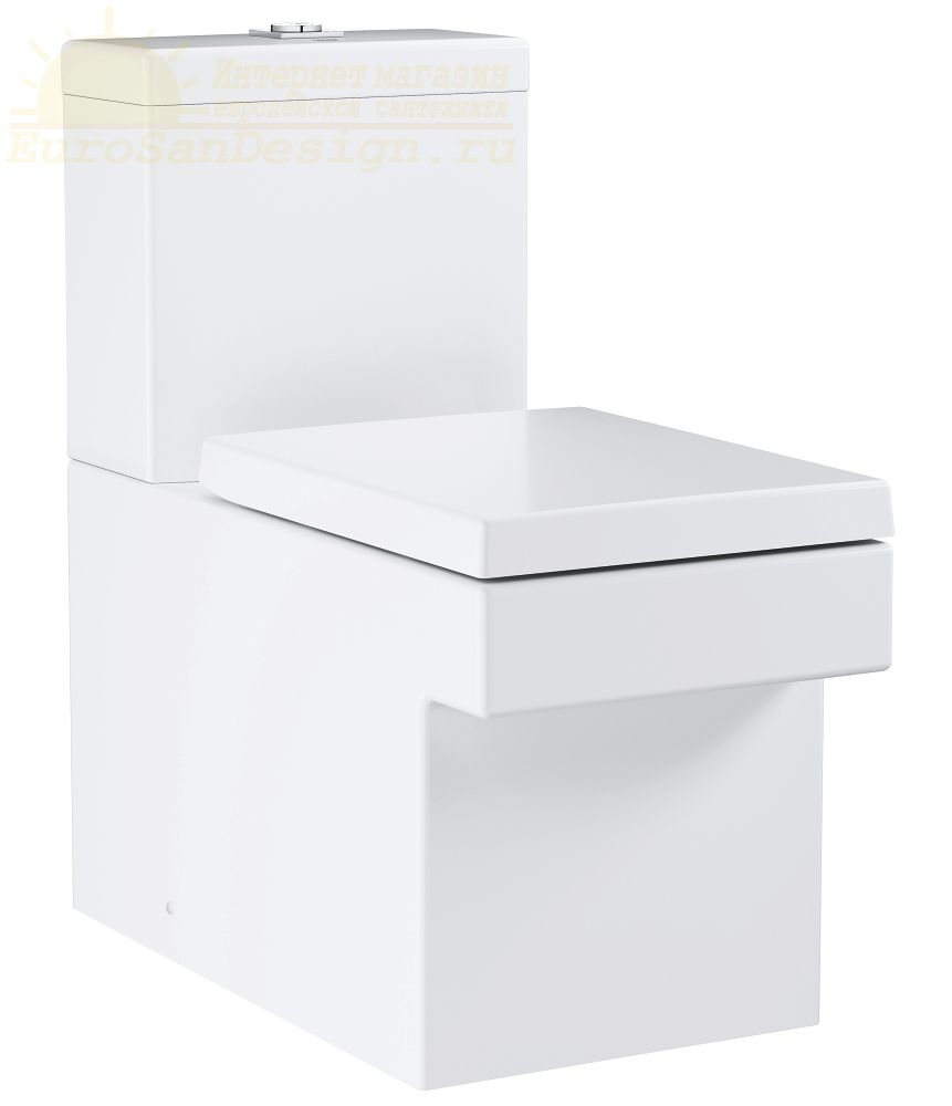 Grohe Cube Ceramic напольный унитаз 3948400H+39490000 ФОТО