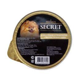 SECRET Premium Индейка с телятиной для собак мелких пород