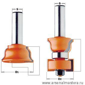 CMT 955.801.11 Комплект 2 фрез дверной переплет макс.35мм S12 D38-35