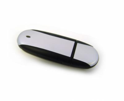 16GB USB-флэш накопитель UsbSouvenir U204, Черный  серебро