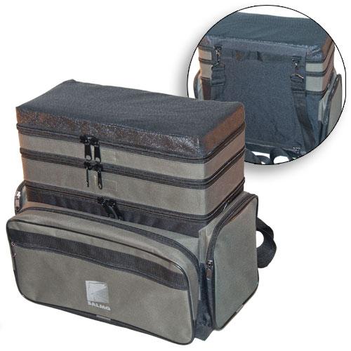 Ящик рюкзак рыболовный зимний Формула рыбалки 3-х ярусный H-3LUX