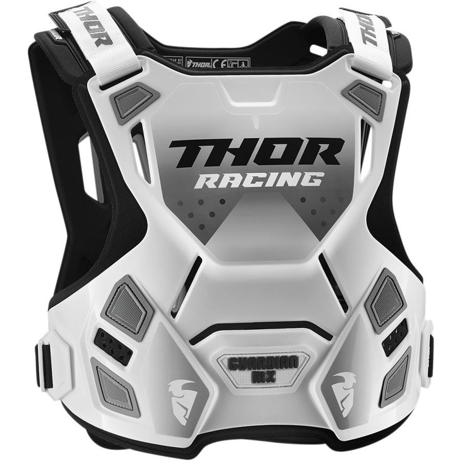 Thor Guardian MX White/Black защитный жилет, бело-черный