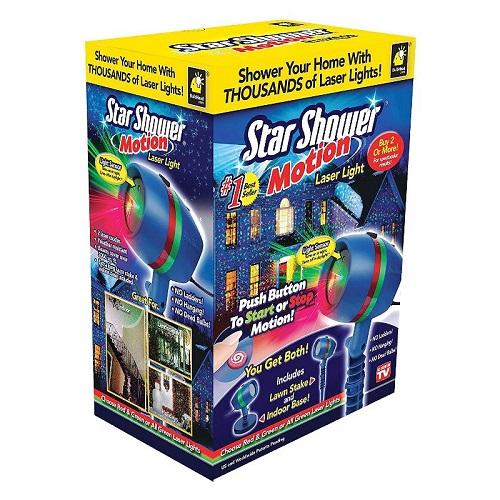 Звездный проектор Star Shower Motion лазерный