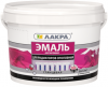 Эмаль Акриловая для Радиаторов Отопления 2.4кг Белая Лакра