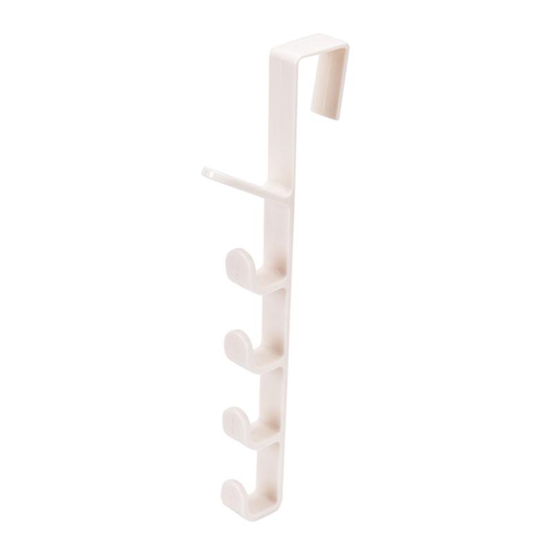 Крючок-держатель на дверь 5-level Door Hook (цвет белый)