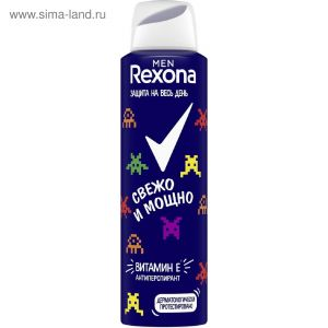 Рексона аэрозоль Свежо и мощно (муж) 150 мл