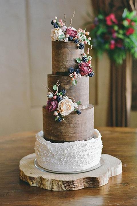 Свадебный торт Эко