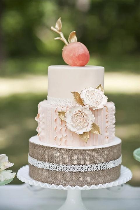 """Свадебный торт """"Яблоко любви"""""""