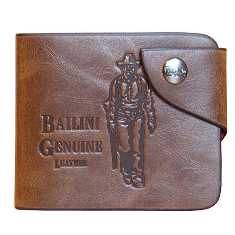 Мужское портмоне кошелек Bailini