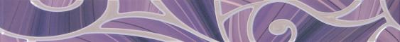 Arabeski purple border 01