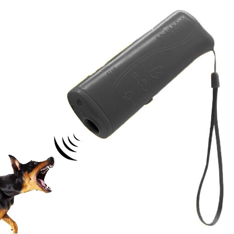 Ультразвуковой Отпугиватель Собак (цвет чёрный)