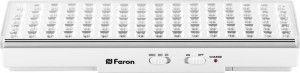 Feron Светильник аккумуляторный, 80 LED DC, белый, EL18 12900