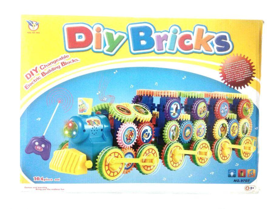 Музыкальный Конструктор Diy Bricks 164 детали
